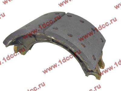 Колодка тормозная задняя с накладками H2/H3 HOWO (ХОВО) WG199000340061 фото 1 Брянск
