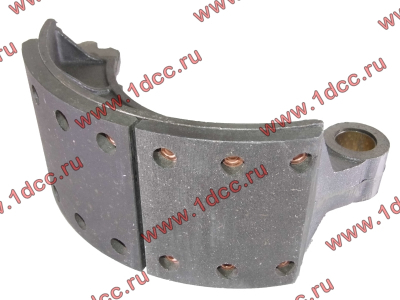 Колодка тормозная передняя с накладками (металл) H HOWO (ХОВО) WG199000440031 фото 1 Брянск