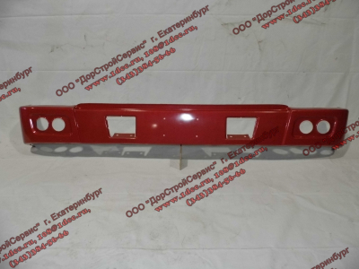 Бампер H красный самосвал металлический HOWO (ХОВО) WG1641240001 фото 1 Брянск