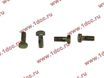 Болт пустотелый M6 обратки с форсунок H2 HOWO (ХОВО) VG1500080090 фото 1 Брянск