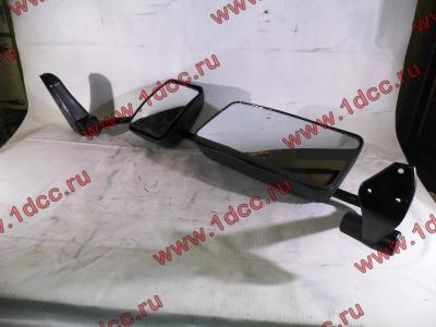 Зеркало заднего вида левое в сборе (на металл. стойке) H2/H3 HOWO (ХОВО) WG1842888010/2 L фото 1 Брянск