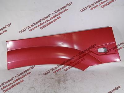 Крыло кабины со спальником красное задняя часть левая (под треугольный повторитель в конце) H3 HOWO (ХОВО) WG1642230107 фото 1 Брянск
