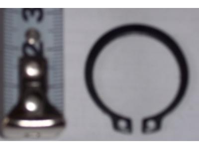 Кольцо стопорное замковое шестерни полуоси H HOWO (ХОВО) 190003933351 фото 1 Брянск