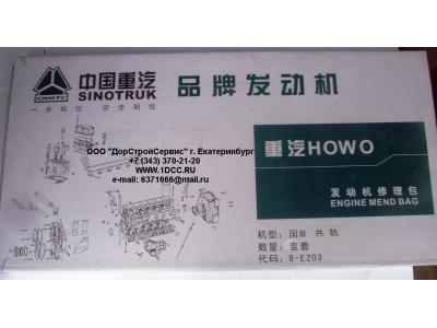 Комплект прокладок на двигатель H3 HOWO (ХОВО) WD615E3-XLB фото 1 Брянск