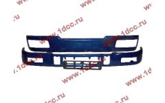 Бампер C синий верхний+нижний (в сборе) фото Брянск