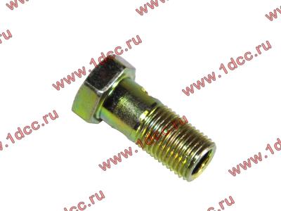 Болт пустотелый М10х1,0 (штуцер топливный) H HOWO (ХОВО) 81500070054 фото 1 Брянск
