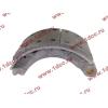 Колодка тормозная передняя с накладками (металл) H HOWO (ХОВО) WG199000440031 фото 3 Брянск