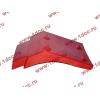 Брызговик передней оси правый H2 красный HOWO (ХОВО) WG1642230004 фото 3 Брянск