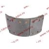Колодка тормозная передняя с накладками (металл) H HOWO (ХОВО) WG199000440031 фото 4 Брянск