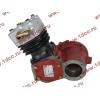 Компрессор пневмотормозов 1 цилиндровый H HOWO (ХОВО) AZ1560130070 фото 4 Брянск