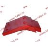 Брызговик передней оси правый H2 красный HOWO (ХОВО) WG1642230004 фото 4 Брянск