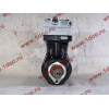 Компрессор пневмотормозов 2-х цилиндровый WABCO H3 HOWO (ХОВО) VG1099130010 фото 5 Брянск